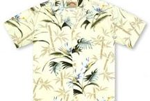 Hawaiian Wedding / Whether a wedding, luau, or quiet evening out, a more sophisticated look to compliment any special occasion. Matching shirts and dresses in a subtle style to perfectly dress up any event.  / by 🌺 🌺Aloha Shirt Shop🌺 🌺