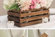 DIY Wedding Ideas / How creative are these DIY projects for your weddings? Love them!