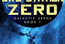 Orb Station Zero - Galactic Arena Series / Images and inspiration for the science fiction novel Orb Station Zero. Professional gamer Rama Seti must become Earth's champion, fight an alien soldier to the death to save humanity from destruction.