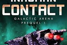 Inhuman Contact: Galactic Arena Prequel 1 / Inspiration for the science fiction novel Inhuman Contact, a story about a mission to the outer solar system with a genetically engineered crew