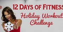 12 Days of Fitness Holiday Workout Challenge / 12 Day Holiday Fitness Challenge to tone up, boost metabolism, and avoid holiday weight gain.