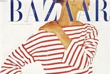 harpers bazaar. / fashion magazine that will have you spinning.  / by Rachel Anne