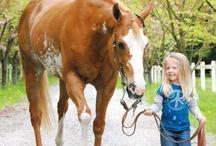 Kids & Horses / by ilovehorses.net