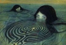 Mazes and Labyrinths  /   / by Debbie K