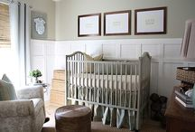 Interiors: Nursery / by Jeanette Morrow