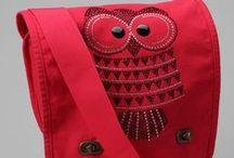 bag / owl purse / 2 many never / by Jo Ann Slayton
