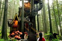 Tree houses / Dream houses from childhood