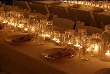 Thanksgiving Table- Jars of Light / by Apples & Onions