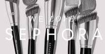 We Love: Sephora / Sephora's unique, open-sell environment features an ever-increasing amount of classic and emerging brands across a broad range of product categories including skincare, color, fragrance, body, smilecare, and haircare, in addition to Sephora's own private label.