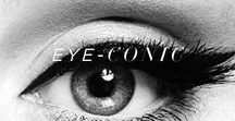 Eye-conic / Beauty is in the eye of the beholder.