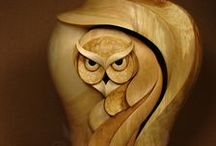 1 rock paper glass owl, etc / by Jo Ann Slayton