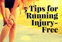 Stretches & Injury Prevention / Stretches and proactive steps to avoid runners' injuries.