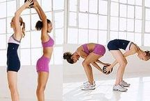 Workout Faves / Workouts like cycling, swimming, yoga, and strength training. Building strength and flexibility is key!
