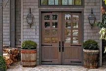 Farmy Front Doors / It's all about the door. / by FARMandFOUNDRY.com