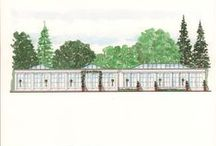 #haynehouse #orangery coming soon April 2018 / Where our marquee currently stands, a stunning new Orangery is being built for Spring 2018. With plenty of natural light flooding in through the doors and glass lanterns, the Orangery forms a natural link to the gardens whilst providing a space which is stylish, charming and practical for any time of the year.