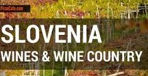 Slovenia - Wines & Wine Country / Explore Slovenian wines and wineries from Piran Cafe.