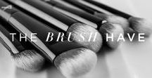 The Brush-Have's / Our monthly round up featuring our favorite brushes and tools.