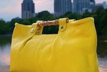 the yellow purse / la bourse jaune: i have a thing for yellow purses. i am completely convinced that the right yellow purse will go with absolutely ANY outfit. although my favorite color is green, there's just something special about a yellow purse. / by laura faulk