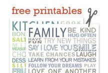 Free Printable / by Lorraine Vargas