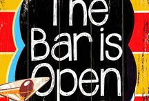 The Bar's Open / GO Home Ltd. offers a complete line of bar stools, barware, glassware, vintage decanters and serving accessories. / by Go Home Ltd