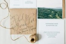 Wedding Invitations / fun designs for wedding invitations, save the dates, etc.