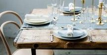 Dining Rooms / A collection of the most stunning dining rooms that will inspire.  We love dreaming about how to update the dining room to reflect our growing families.