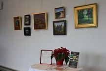 Featured Art at the Winery / Pictures of art work, past and present, exhibited at Old York Cellars.