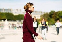 Olivia Palermo / Maybe she's born with it, nope she's just absolutely perfect.