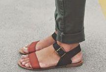 shoes. / toms, flats, heels, boots, sandals, sneakers, etc