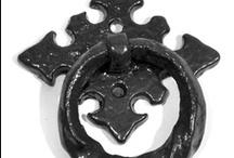 Drawer Handles Black Iron