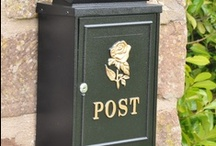 Post Boxes Wall Mounted
