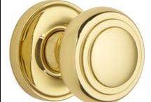 Door Knobs Brass