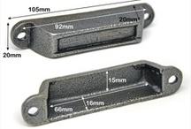 Rim Lock Keeps Cast Iron