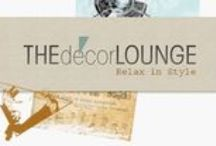 The Decor Lounge / Imagery from the blog, The Decor Loung, the official blog of GO Home Ltd. featuring stylemaker interviews, home decor trends, creative inspirations and the best news of the web on all things design. Relax in Style!