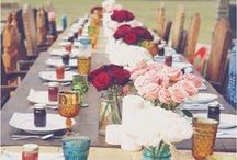 tablescapes / tablescapes, tablesettings, table settings, table, dishes, centerpiece