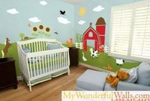 Home- Future Kid Room / by Maggie Johnston