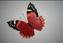 Beautiful butterflies / butterflies that I have painted and butterfly inspiration
