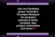 Amanda's Younique Boutique / Independent Younique Presenter www.amandasyouniqueboutique.ca