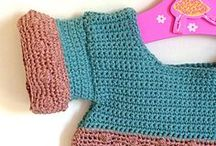 Crochet baby clothing / Adorable crochet clothing for babies, children, kids, you get it!