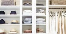 Organized / Tips and ideas for staying organized at home and work. Ideas for the kitchen, closet and children's rooms.