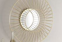 Mesmerizing Mirror Ideas / Large Mirrors to Round Mirrors to Wall Mirrors. This board has all kinds of Decorative Mirrors that you will love.