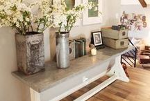 Home Decor Inspiration / Want to get a fresh look for your space but not quite sure where to start?  Look here.  There are tons of different styles of decor to view from.