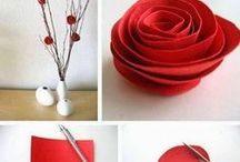 Flowers and Fabric Crafts / There are too many floral and fabric crafts out there to clump them together with all the other craft projects.  If you want to find something using either of these things, look through this board, there are a ton of great ideas!