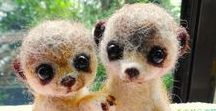 felted cuties