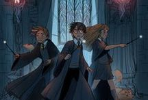 """Harry Potter / ,,You're a wizard, Harry."""""""