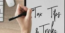 Tax Tips & Tricks / Taxes can be confusing and hard to understand. They don't have to be anymore! Whether you are working for yourself or for an employer, this collection of pins reviews how to save money on your taxes and avoid tax penalties.