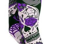 Skull Themed Leggings / Check out our range of awesome Skull designs! https://gearbunch.com/collections/skulls
