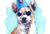 Illustrated Animals Contemporary / illustrations of animals / by Natalya Zahn