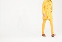yellow / golden.