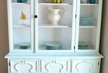 I Need a Hutch in my Dining Room  / by The Aqua House
